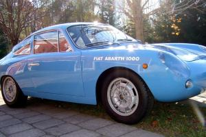 1963 Abarth 1000GT Bi-Albero Twin Cam Duck Tail Race History