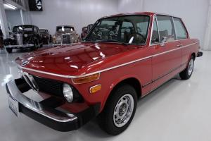 1976 BMW 2002 COUPE, 39,926 ACTUAL MILES, EXTREMELY ORIGINAL AND UNMODIFIED!