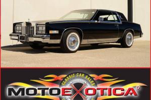 1985 CADILLAC ELDORADO BIARRITZ- STAINLESS ROOF- LOW MILES - ONE OWNER-
