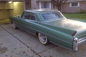 Original, 1963, coupe de ville, teal, clean, everything works