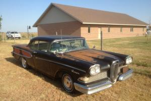 58 Edsel Ranger Standard Trans 400 engine project car not running