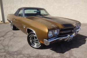 1970 Chevrolet El Camino SS396 - Stock, Build Sheet, Numbers Match - LAS VEGAS Photo