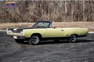 1969 GTX Convertible, Numbers Matching 440c.i./375hp V8, Correct Colors, Rare!