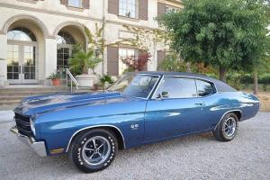 1970 CHEVELLE SS396 & TH400 - RESTORED NUMBERS MATCHING WITH BUILD SHEET & OPTS!
