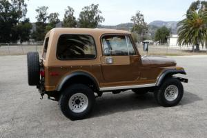 1980 JEEP LAREDO CJ-7 RUST FREE CALIFORNIA