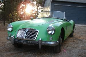 1957 MGA Convertible Photo