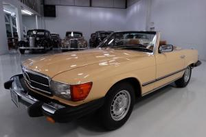1984 MERCEDES-BENZ 380 SL CONVERTIBLE, ALL FACTORY BOOKS AND DOCUMENTS!