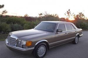 1989 Mercedes Benz 420 SEL Clean Carfax Florida Car Classic Collectors Garaged