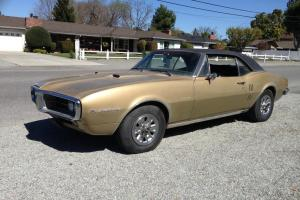 1967 FIREBIRD 400 4 SPEED ORIGINAL OWNER SURVIVOR 123 PICTURES HD VIDEO NR