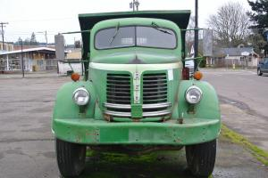 Rare Truck Short 1952 REO F22 3 Yard Garwood Dump Photo