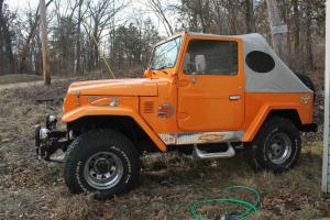 FJ40 1982 Toyota Land Cruiser with Chevy 350/383 Lowerd Reserve