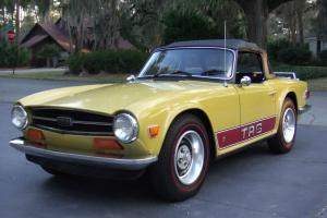 1974 Triumph TR6 - Rust Free Survivor with most all original paint Photo