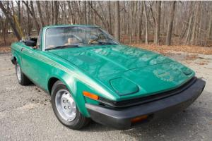 Triumph TR7 Super Clean and Rare!!!