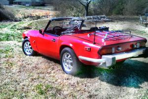 Rebuilt 1972 Triumph Spitfire. 17k miles on 1500 engine with webber