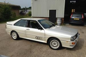 AUDI QUATTRO MB UR2.2 TURBO PEARLWHITE GREYLEATHER SERVICE HISTORY