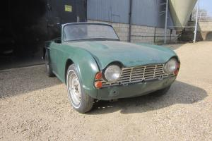 Triumph Tr4 1963 LHD For Restoration L@@K