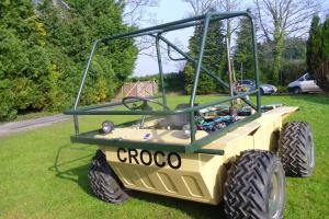 Croco ATV amphibious 4x4 military vehicle - Amphibious vehicle