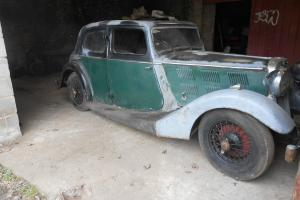 1936 Triumph Gloria for full Restoration Classic Barnfind Photo