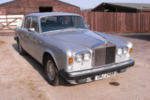 1979 (V) Rolls Royce SIlver Shadow 11 in Silver 101k Miles Nice Car Photo