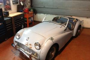 1962 LHD Triumph TR3A - Running, driving project vehicle