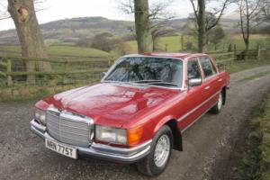 Mercedes-Benz 450 SEL - 1979 Metalic Red