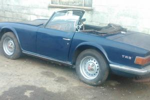 Triumph TR6 1973 CR chassis - restoration Photo