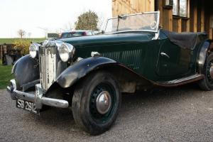 MG TD 1953 Photo