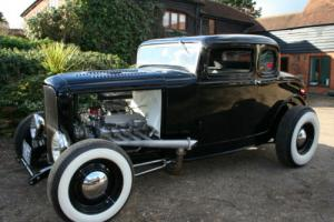Ford Model B 5 Window Coupe V8 Hot Rod Show Winning car is Now Sold