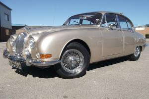 1965 JAGUAR 'S' TYPE 3.4 AUTOMATIC, GOLDEN SAND, GORGEOUS CAR, SUNROOF