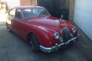 Jaguar Mk2 Saloon 3.8 manual over drive