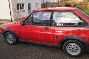Classic Ford Fiesta MK2 XR2 - needs work