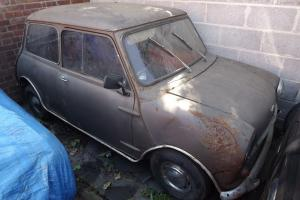 mini mk1 1960 austin seven for restoration