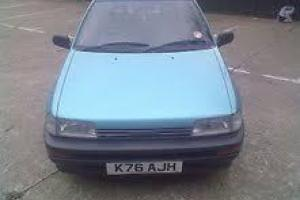DAIHATSU CHARADE 1 OWNER MEGA LOW MILEAGE AUTOMATIC POWER STEERING