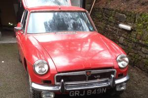 MGB GT V8 factory car great project barn find Photo