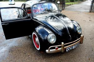 Classic Vw Beetle 1977 Black with MOT and TAX Photo