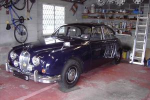 JAGUAR 2.4L MK2 MOD 1966 DARK BLUE  Photo
