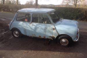 VERY RARE 1960 MINI AUSTIN SEVEN IN BLUE Photo