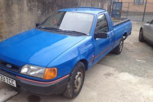 Ford sierra P100 pick up 1.8td retro rwd drift 1 owner from new 87,000 miles