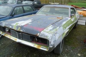 Mercury Cougar 1969 V8 for restoration NO RESERVE