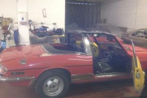 76 triumph stag, project