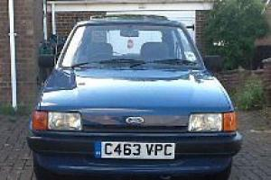 Ford Fiesta Mark2 1986 24k 1 Lady Owner Photo