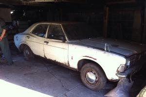 1972 Ford Cortina 1600 Mk3 Spares Repair Restoration Project Barn Find Photo