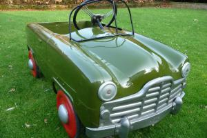 1950s Triang Ford Zephyr pedal car (BASEMENT FIND) (BARN FIND) (ATTIC FIND)