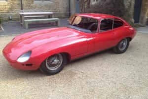 Jaguar E-Type Coupe 1962  Photo