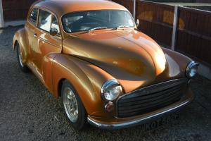Customized Classic Morris Minor Hot Rod