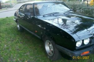FORD CAPRI/2.0L/ LASER/BLACK/AUTO/ NOT 2.0S/ 2.8 i/FULL MOT 6 MONTHS TAX Photo
