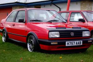 1991 Volkswagen MK2 Jetta Coupe 2 Door Rare European Only Model Left Hand Drive Photo