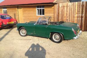 austin healey sprite /mg miget/ barn find/rat rod/ Photo