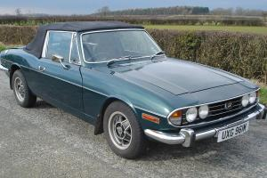 1974 Triumph Stag 2500, manual o/d, metallic BRG, taxed & tested