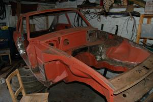 MGB GT sebring project restoration, race rally track